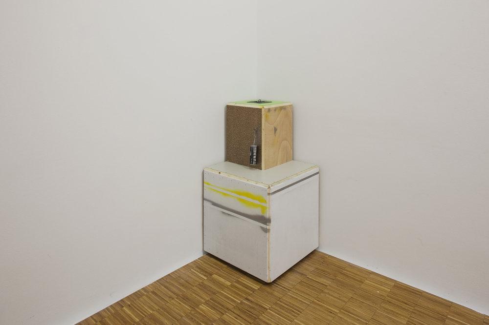 Manfred-Pernice-Installation view, 'Tutti', Kunstverein, Salzburg, 2010