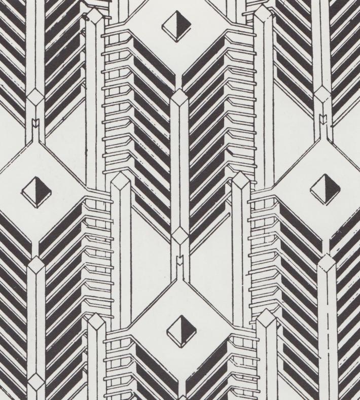 Theo van Doesburg. Eine Stadt fur den Verkehr, 1929