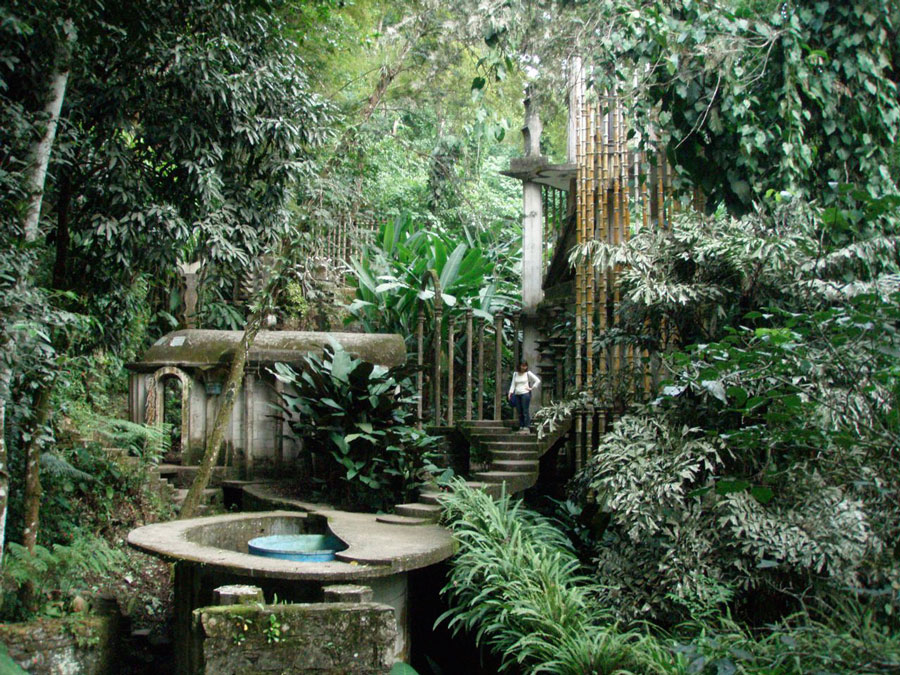 Sir edward james for Jardin xilitla