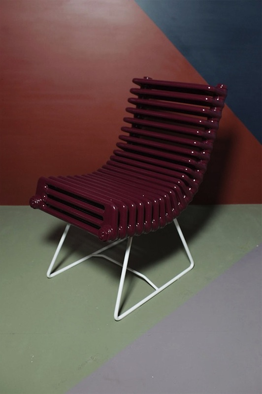 Boris Dennler, Heater chair, 2011