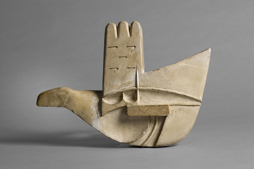Le Corbusier Maquette of the Open Hand monument, ca. 1956 – 1959