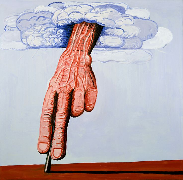 Philip Guston: Philip GustonThe Line, 1978Öl auf Leinwand/Oil on CanvasMaße/Dimensions: 180.3 x 186.1 cmPrivatsammlung/Private Collection© The Estate of Philip GustonAus der Ausstellung PHILIP GUSTON - DAS GROSSE SPÄTWERK, Deichtorhallen Hamburg - Sammlung Falckenberg, 22.2. - 25.5.2014