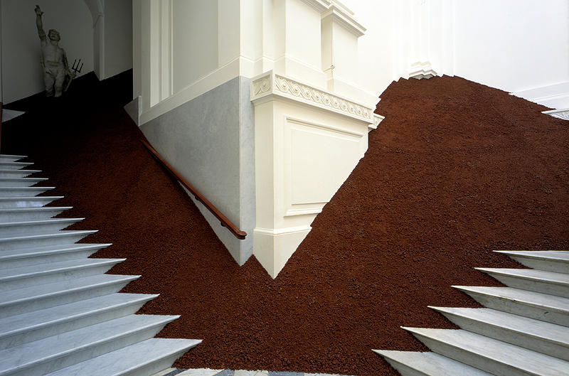 magdalena jetelova-Domestication of a Pyramid, Vienna, Warsaw, Prague 1991-4