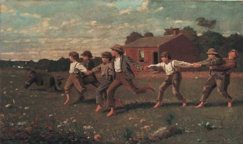Winslow-Homer-Snap-the-whip-1872