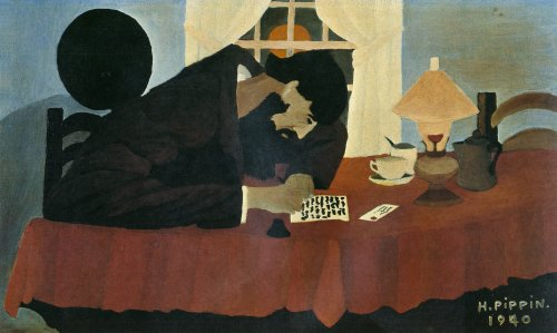 Horace Pippin, Amish Letter Writer, 1940