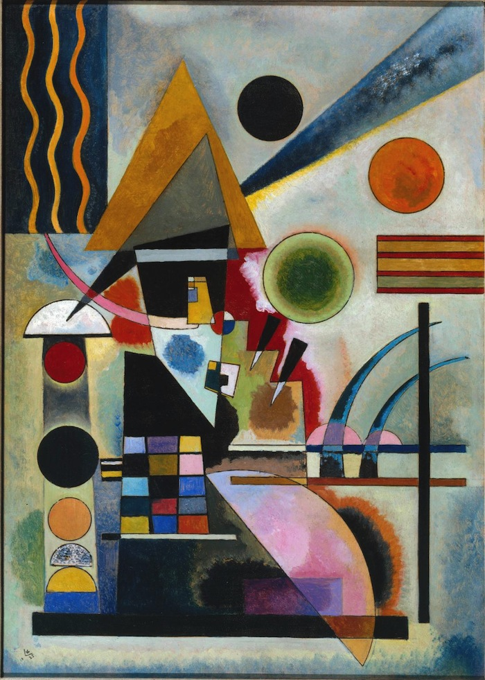 Swinging 1925 Wassily Kandinsky 1866-1944 Purchased 1979 http://www.tate.org.uk/art/work/T02344