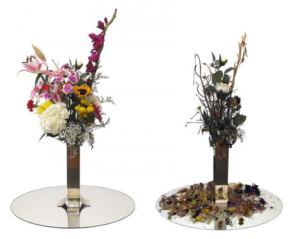 alicetomaselli_Bouquet of 54 natural flowers + 1 artificial 2012