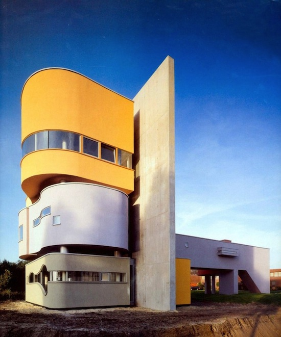 john hejduk wall house-1973-1