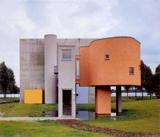 john hejduk wall house-1973-2
