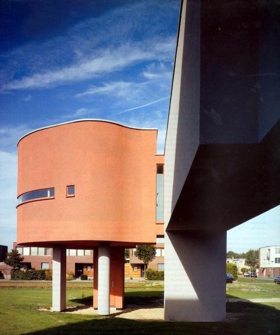 john hejduk wall house-1973-3