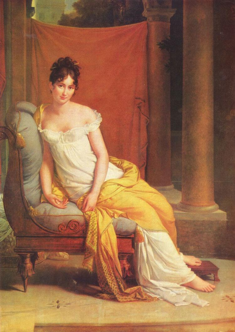 Portrait-of-Juliette-Recamier-by-Francois-Pascal-Simon,-Baron-Gerard1802